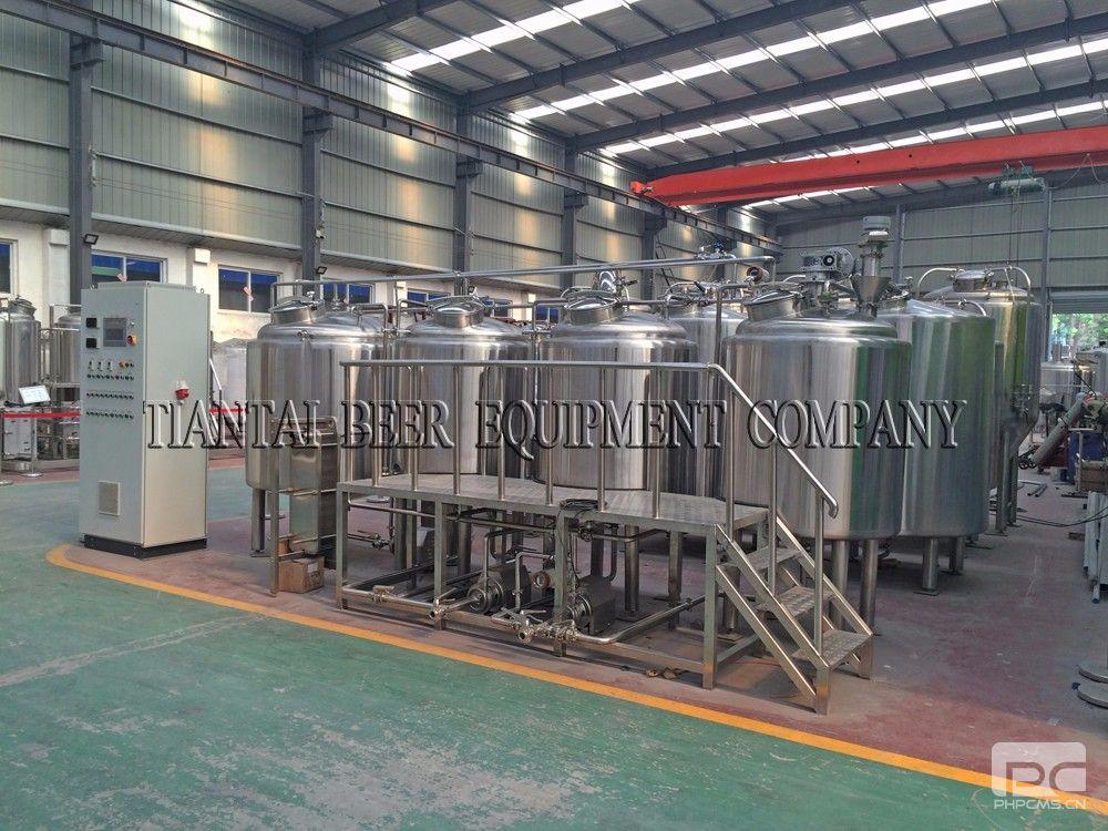 400l 4hl Turnkey Beer Brewing Equipmentbrewpub Restaurant